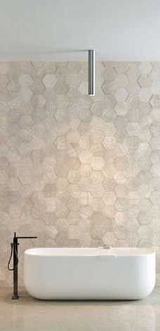 modern bathroom quarry tiles floor wall