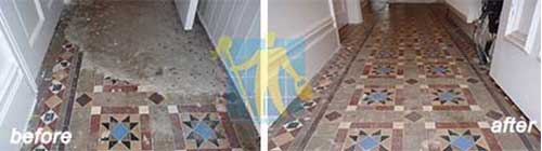 wonderful tile floor restoration before and after